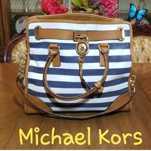 Michael Kors Leather/Fabric  Tote